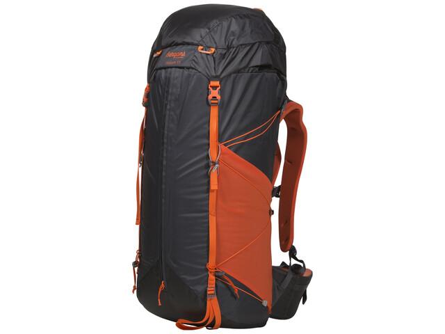 Bergans Helium 55L Plecak szary/pomarańczowy